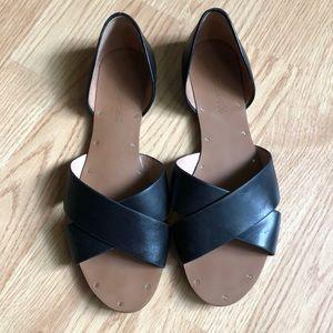 Madewell crisscross sandals